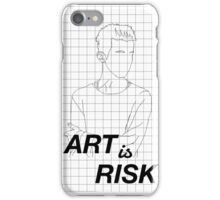 art is risk - troye sivan iPhone Case/Skin