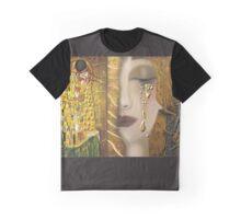 My Klimt Serie:Gold Graphic T-Shirt