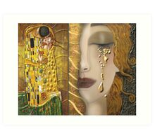 My Klimt Serie:Gold Art Print