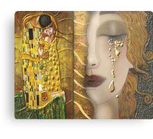 My Klimt Serie:Gold Metal Print