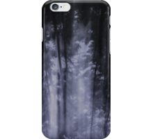 tree curtain  iPhone Case/Skin