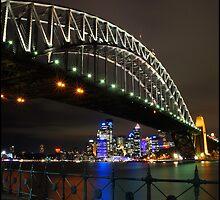 Sydney Harbour Bridge from Luna Park by mashdown