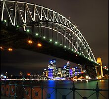Sydney Harbour Bridge from Luna Park by mashdown
