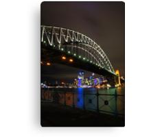 Sydney Harbour Bridge from Luna Park Canvas Print