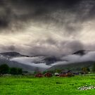 Dramatic Clouds by Svetlana Sewell