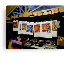 My JellyFish Cupcake Studio Canvas Print