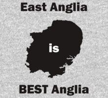 East Anglia is BEST Anglia One Piece - Long Sleeve