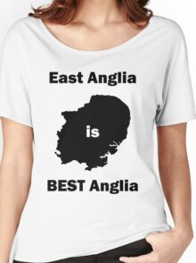 East Anglia is BEST Anglia Women's Relaxed Fit T-Shirt