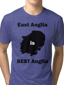 East Anglia is BEST Anglia Tri-blend T-Shirt