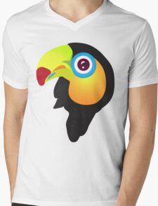Tucan baby Mens V-Neck T-Shirt