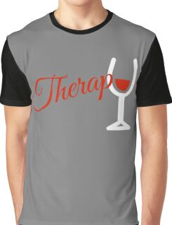 Wine Therapy Graphic T-Shirt