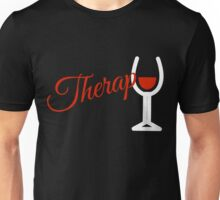 Wine Therapy Unisex T-Shirt