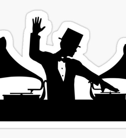 Let's Party Like It's... 1923! ...Hands in the Air! Sticker