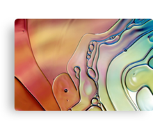 Rainbow Swirls Canvas Print