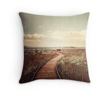 Mono Lake unplugged Throw Pillow