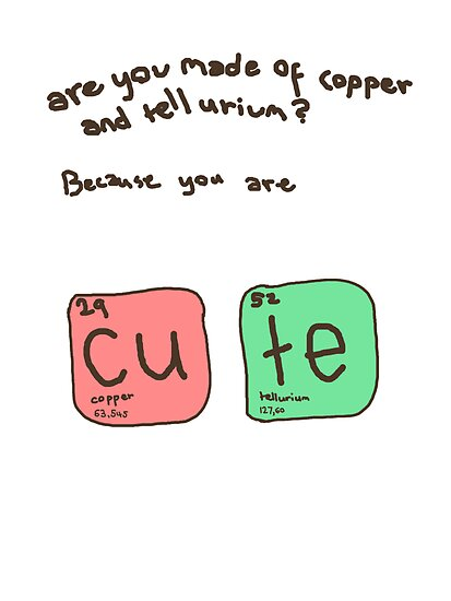 Copper and tellurium by hallokittehxx
