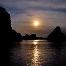 Sunset over Ha Long by salsbells69
