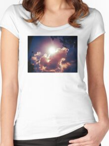 SKYSHIRT 001 Women's Fitted Scoop T-Shirt