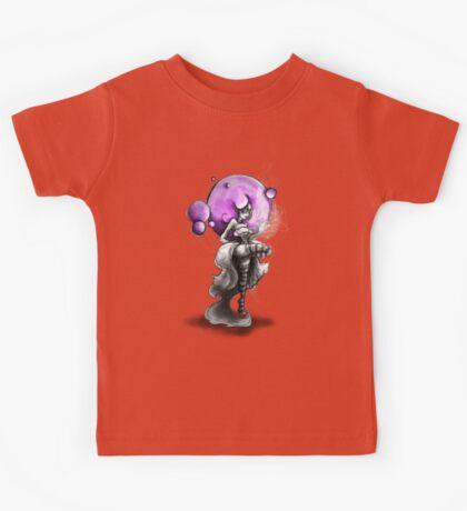 Rainbow Punk: Psychedelic Purple Kids Tee