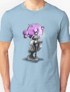 Rainbow Punk: Psychedelic Purple Unisex T-Shirt