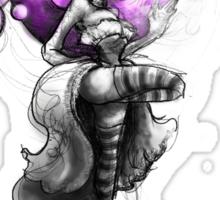 Rainbow Punk: Psychedelic Purple Sticker