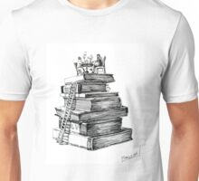 Library. Illustration Unisex T-Shirt