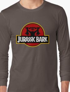 Clever Dog (Jurassic Park X Duck Hunt) Long Sleeve T-Shirt
