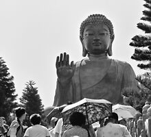Big Buddha Statue by RickyMoorePhoto