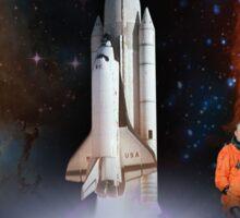 Shuttle Columbia (OV-102) Tribute Sticker