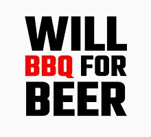 Will BBQ For Beer Unisex T-Shirt