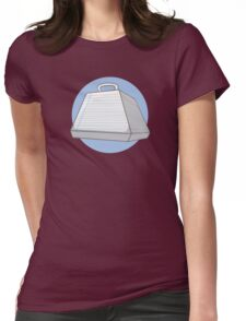 Paper Weight Womens Fitted T-Shirt