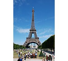 Paris - Eifel Tower Photographic Print