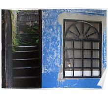 Blue House - Casa Azul Poster
