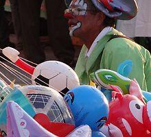 Clowns And Toys - Payasos Y Juguetes by Bernhard Matejka