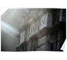 Vatican in Rome Poster