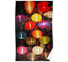 Hoi An Lanterns - Vietnam 2012 Poster