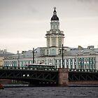 St Petersburg - Admiralty Building by Derek  Rogers