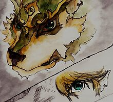 The Twilight Wolf   by TheTartanEevee