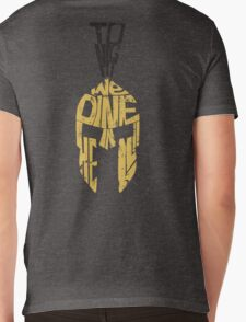 Tonight we dine in HELL!! - ZipUp Hoodie Mens V-Neck T-Shirt