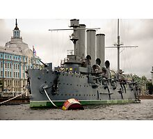 St Petersburg - Aurora Cruiser Photographic Print