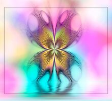 Butterfly Ripples by Pam Amos