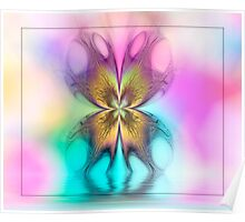 Butterfly Ripples Poster