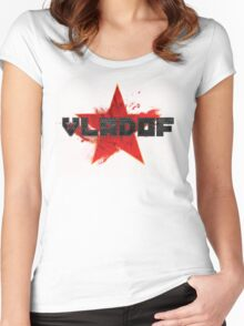Vladof Proletariat (Without Text) Women's Fitted Scoop T-Shirt
