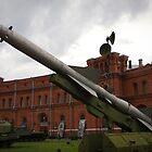 St Petersburg - Cold War Missiles by Derek  Rogers