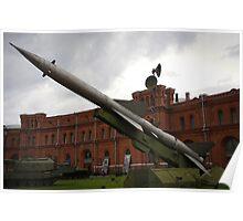 St Petersburg - Cold War Missiles Poster
