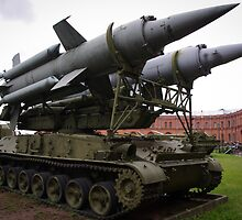 St Petersburg - Missile Launcher by Derek  Rogers