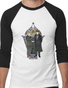 Sherlock Nouveau Men's Baseball ¾ T-Shirt