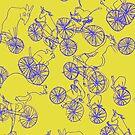 Bikey Likey - Yellow 2 by jamface
