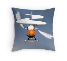 The First Helicopter ? Throw Pillow