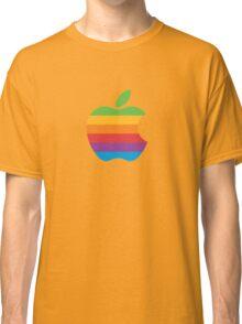 Apple Logo Rainbow Classic T-Shirt
